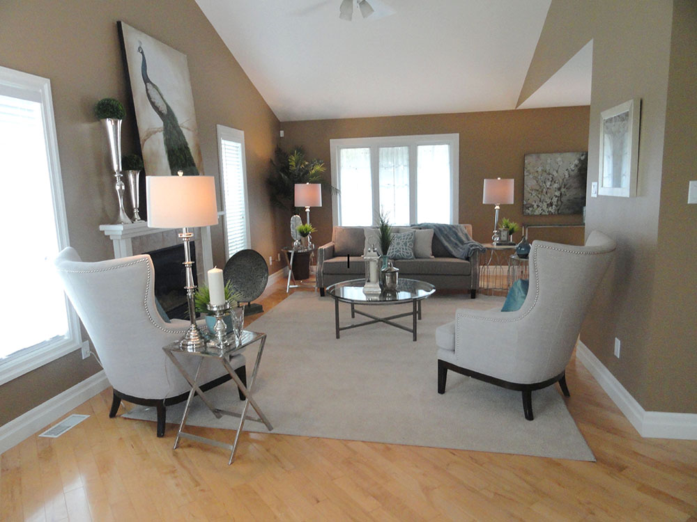 Before and after kim abraham stager harmony home staging for Home staging before and after